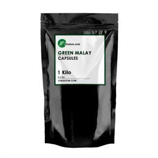 1 Kilo Green Malay Kratom Capsules