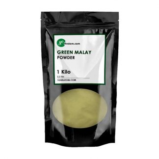1 Kilo Green Malay Kratom Powder