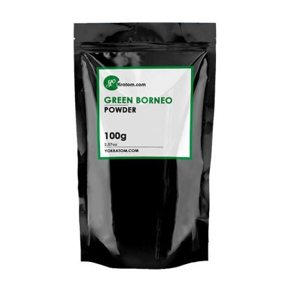 100g Green Borneo Kratom Powder