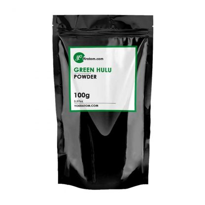 100g Green Hulu Kratom Powder