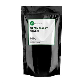 100g Green Malay Kratom Powder
