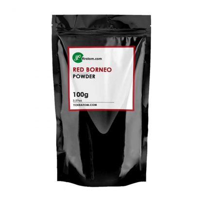 100g Red Borneo Kratom Powder