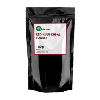 100g Red Hulu Kratom Powder