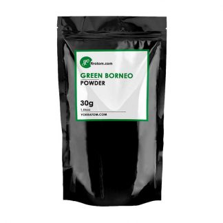 30g Green Borneo Kratom Powder - 1.06oz