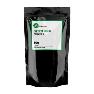 30g Green Hulu Kratom Powder - 1.06oz