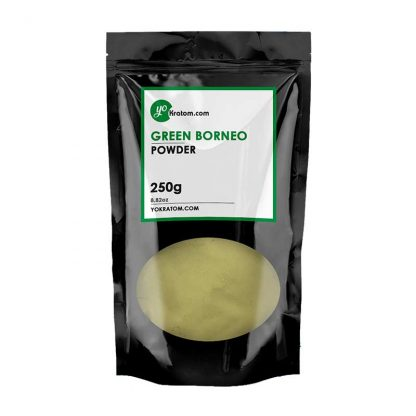 250g Green Borneo Kratom Powder