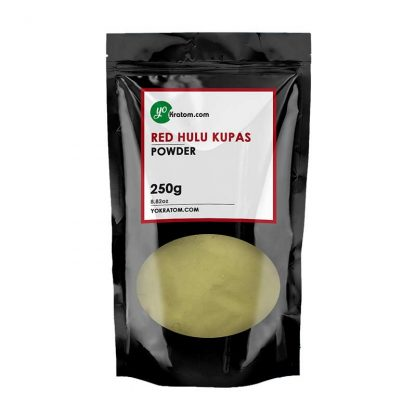 250g Red Hulu Kratom Powder