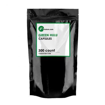 300ct Green Hulu Kratom Capsules