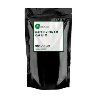 300ct Green Vietnam Kratom Capsules