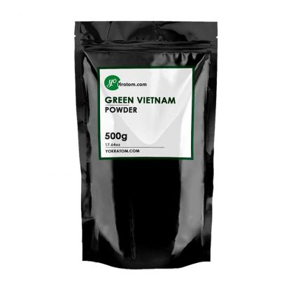 500g Green Vietnam Kratom Powder - Half Kilo
